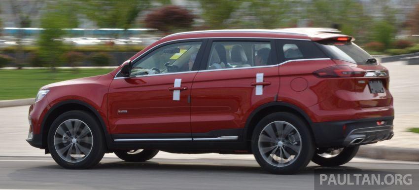 GALERI: Geely Boyue 1.8 TGDi facelift 2018 – asas SUV pertama Proton yang akan muncul tahun ini Image #813991