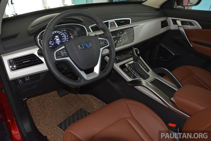 GALERI: Geely Boyue 1.8 TGDi facelift 2018 – asas SUV pertama Proton yang akan muncul tahun ini Image #814010