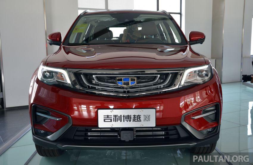 GALERI: Geely Boyue 1.8 TGDi facelift 2018 – asas SUV pertama Proton yang akan muncul tahun ini Image #813986