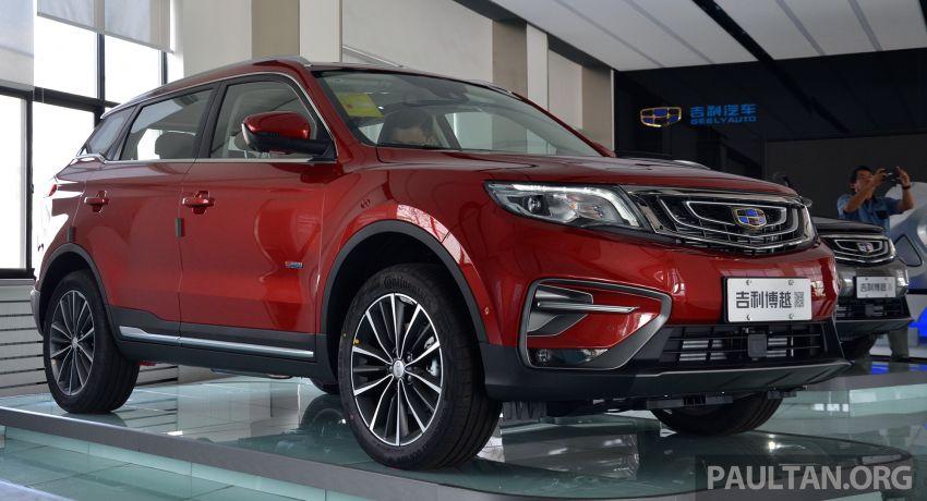 GALERI: Geely Boyue 1.8 TGDi facelift 2018 – asas SUV pertama Proton yang akan muncul tahun ini Image #813985