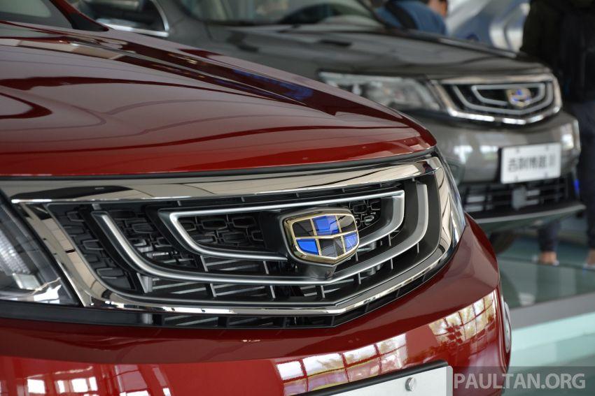 GALERI: Geely Boyue 1.8 TGDi facelift 2018 – asas SUV pertama Proton yang akan muncul tahun ini Image #813975