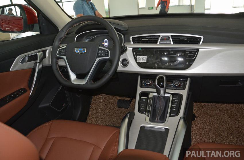 GALERI: Geely Boyue 1.8 TGDi facelift 2018 – asas SUV pertama Proton yang akan muncul tahun ini Image #814008