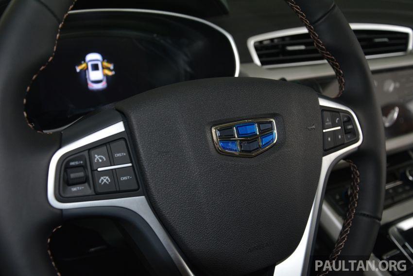 GALERI: Geely Boyue 1.8 TGDi facelift 2018 – asas SUV pertama Proton yang akan muncul tahun ini Image #813946