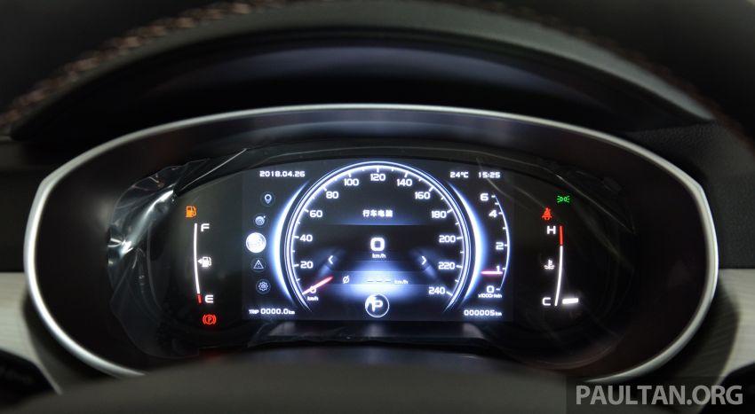 GALERI: Geely Boyue 1.8 TGDi facelift 2018 – asas SUV pertama Proton yang akan muncul tahun ini Image #813931