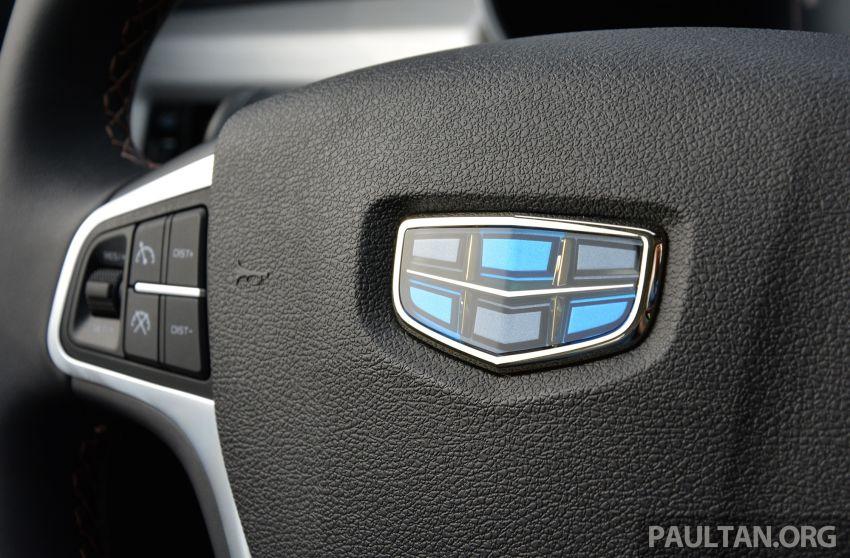GALERI: Geely Boyue 1.8 TGDi facelift 2018 – asas SUV pertama Proton yang akan muncul tahun ini Image #813919