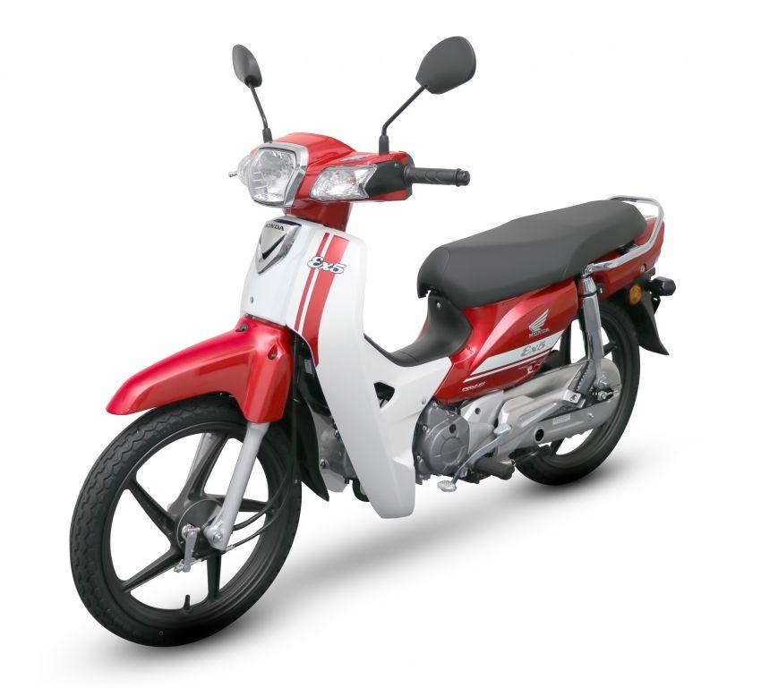 Honda EX5 diperkenalkan dalam pilihan grafik baharu Image #816974