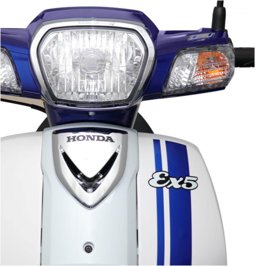Honda EX5 diperkenalkan dalam pilihan grafik baharu Image #816977