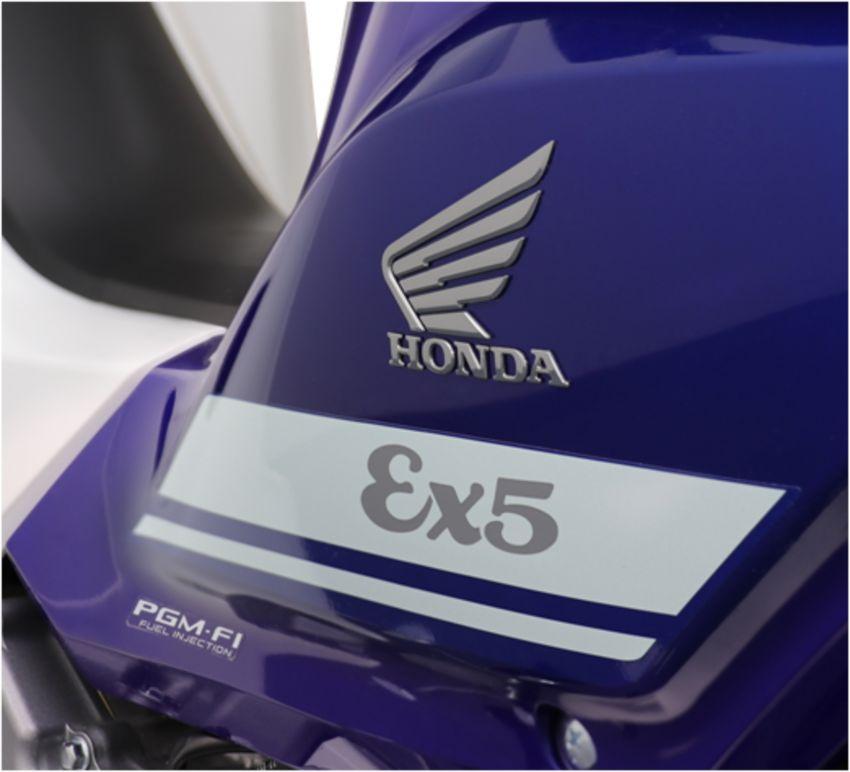Honda EX5 diperkenalkan dalam pilihan grafik baharu Image #816979