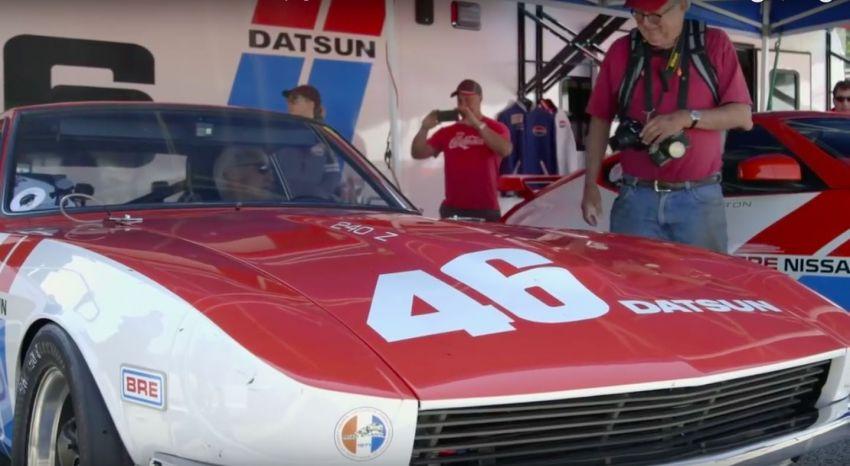 VIDEO: John Morton pandu semula BRE Datsun 240Z Image #815397