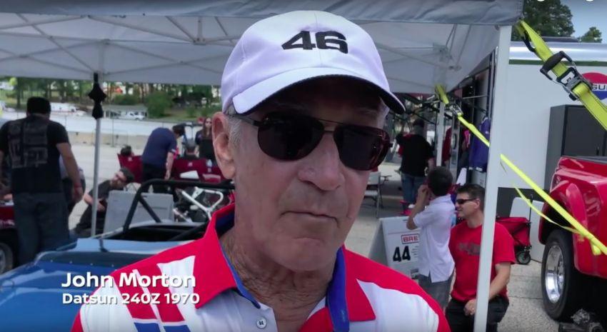VIDEO: John Morton pandu semula BRE Datsun 240Z Image #815396