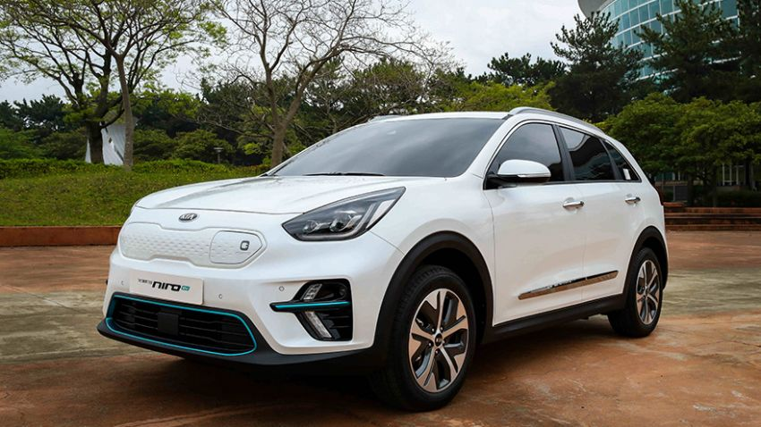 Kia Niro EV – electric crossover with 380 km range Image #815224