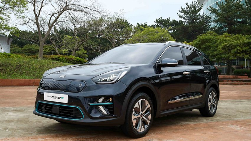 Kia Niro EV – electric crossover with 380 km range Image #815225