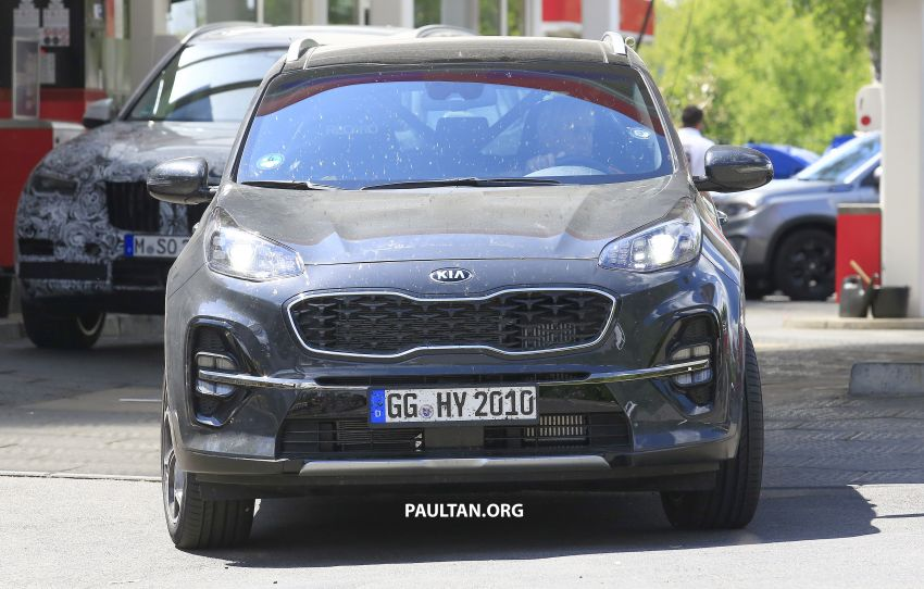 SPYSHOTS: Kia Sportage facelift caught undisguised! Image #817802