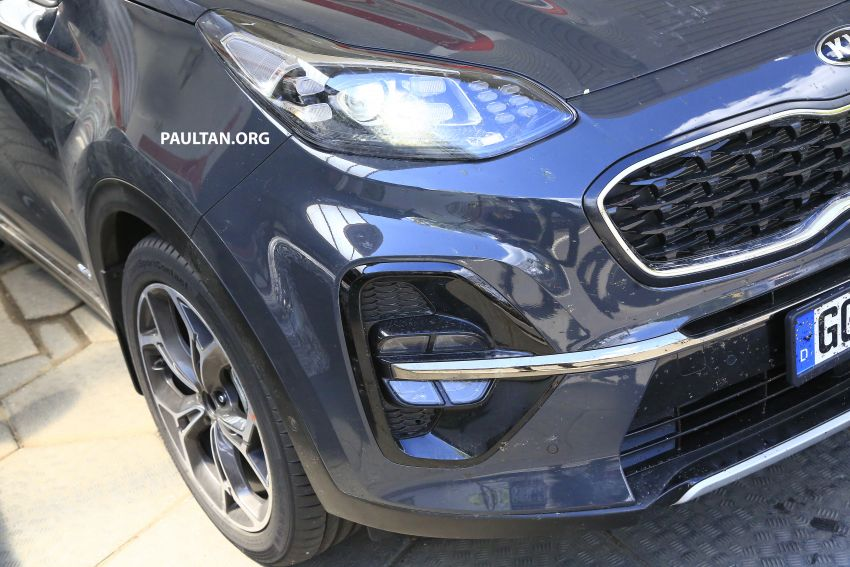 SPYSHOTS: Kia Sportage facelift caught undisguised! Image #817814