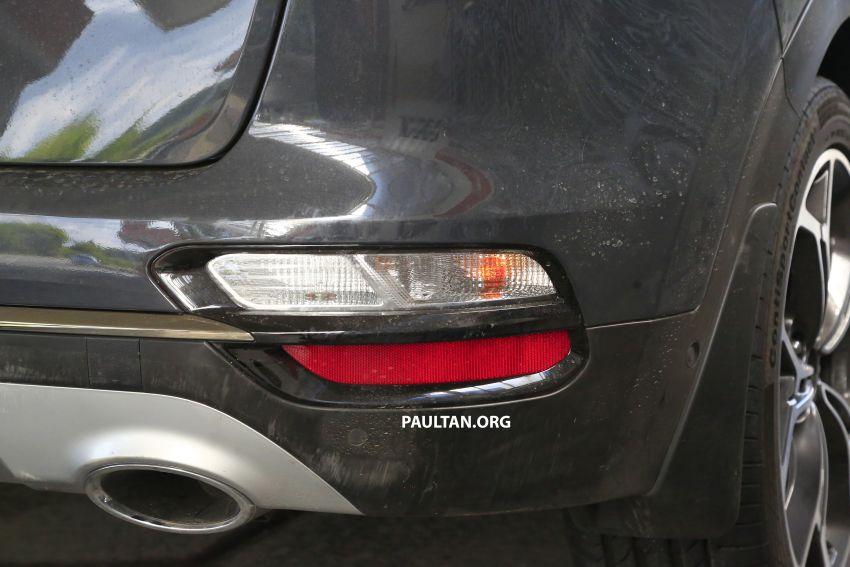 SPYSHOTS: Kia Sportage facelift caught undisguised! Image #817817