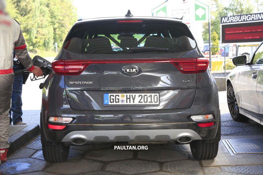 SPYSHOTS: Kia Sportage facelift caught undisguised! Image #817818