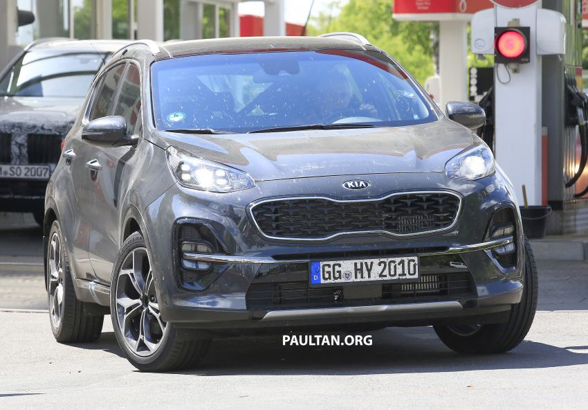 SPYSHOTS: Kia Sportage facelift caught undisguised! Image #817803