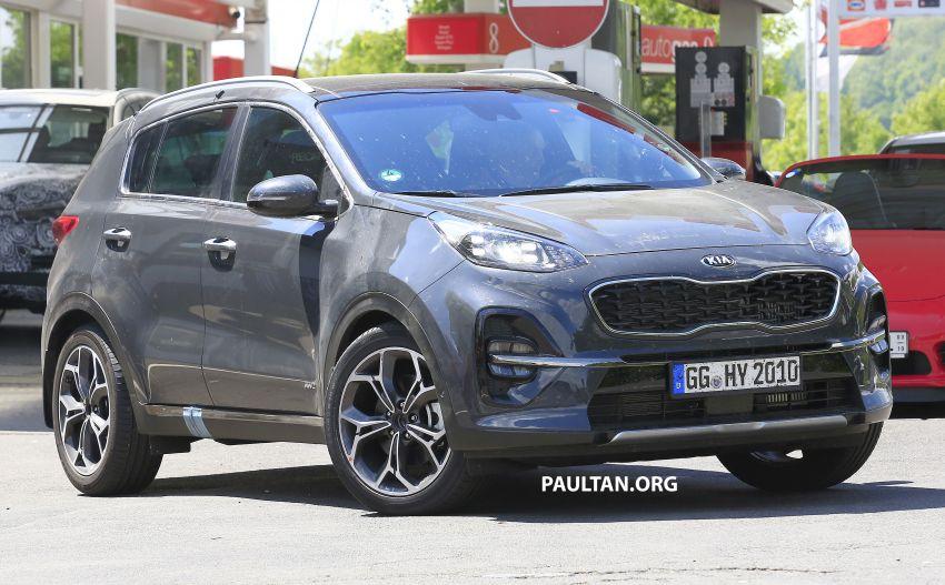 SPYSHOTS: Kia Sportage facelift caught undisguised! Image #817804