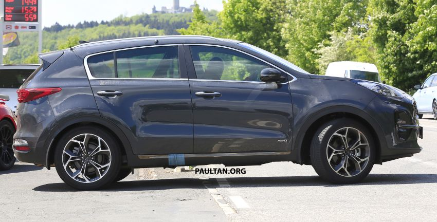 SPYSHOTS: Kia Sportage facelift caught undisguised! Image #817806