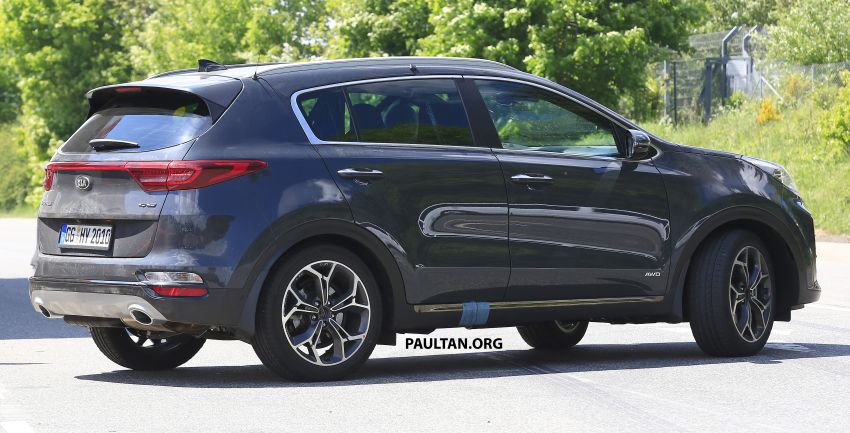 SPYSHOTS: Kia Sportage facelift caught undisguised! Image #817807
