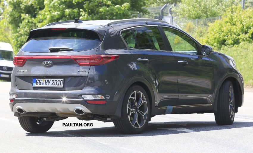 SPYSHOTS: Kia Sportage facelift caught undisguised! Image #817808