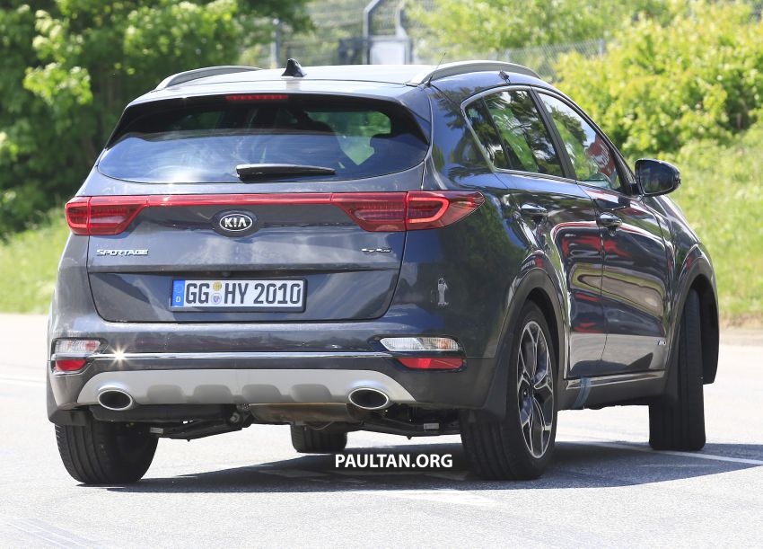 SPYSHOTS: Kia Sportage facelift caught undisguised! Image #817809