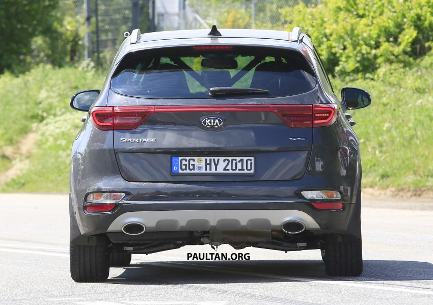 SPYSHOTS: Kia Sportage facelift caught undisguised! Image #817810