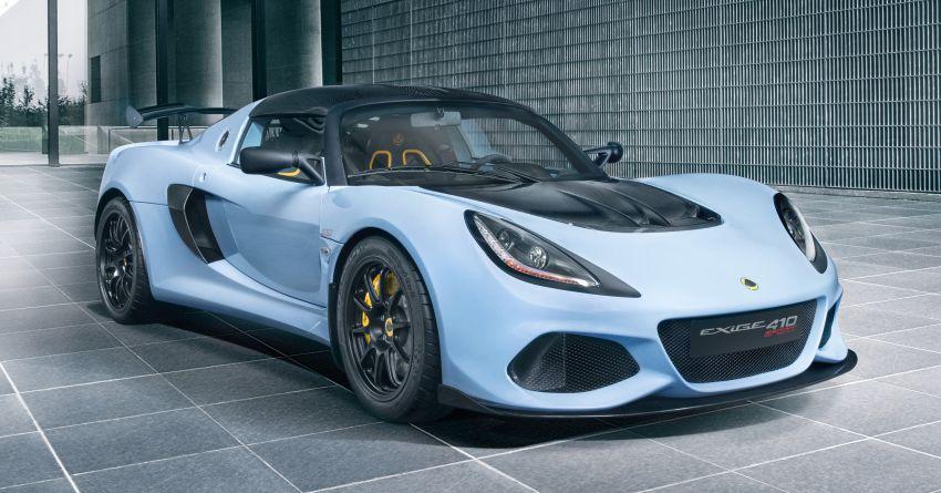 Lotus Exige Sport 410 revealed – 410 hp, 1,054 kg dry Image #815337
