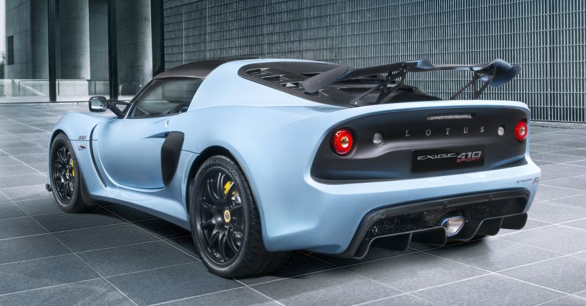 Lotus Exige Sport 410 revealed – 410 hp, 1,054 kg dry Image #815338