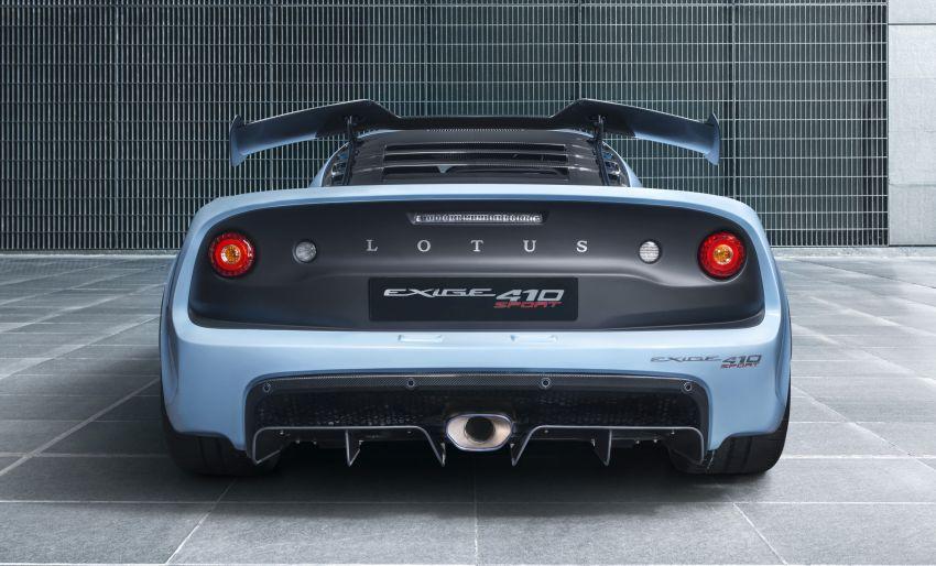 Lotus Exige Sport 410 revealed – 410 hp, 1,054 kg dry Image #815339