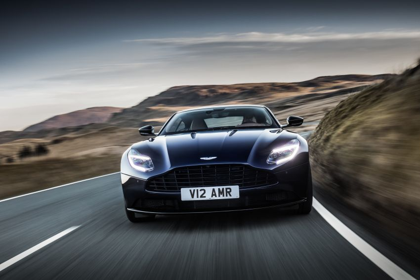 Aston Martin DB11 AMR – new 639 PS V12 flagship Image #816729