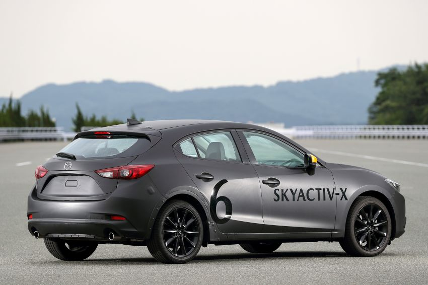 PANDU UJI: Mazda 3 dengan enjin prototaip SkyActiv-X – percaturan dengan teknologi yang lebih relevan? Image #823457