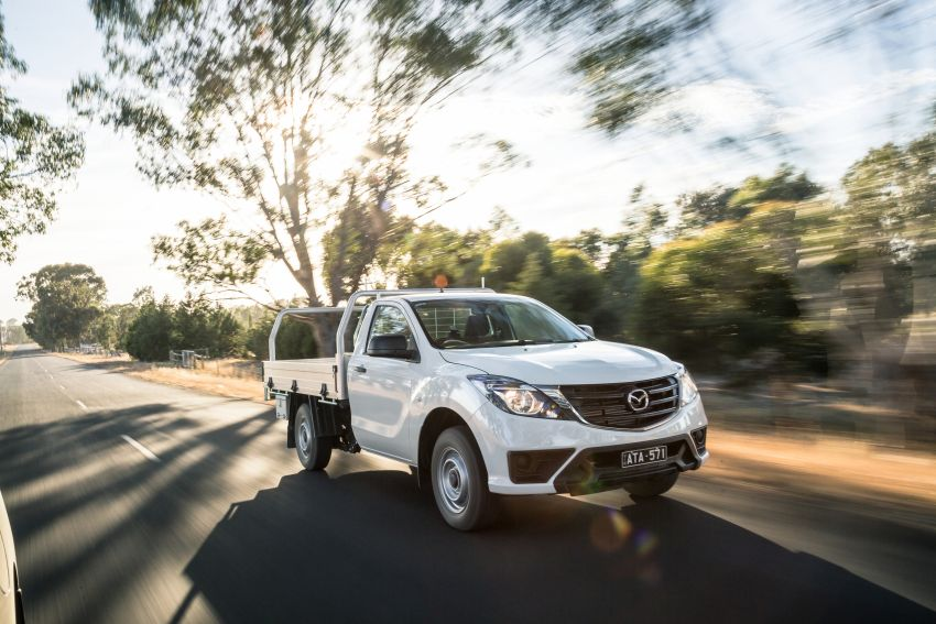 Mazda BT-50 gets second facelift in Australia – Apple CarPlay and Android Auto as standard, from RM86k Image #814874