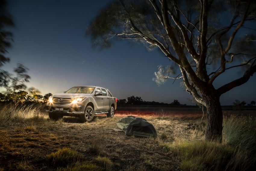 Mazda BT-50 gets second facelift in Australia – Apple CarPlay and Android Auto as standard, from RM86k Image #814875