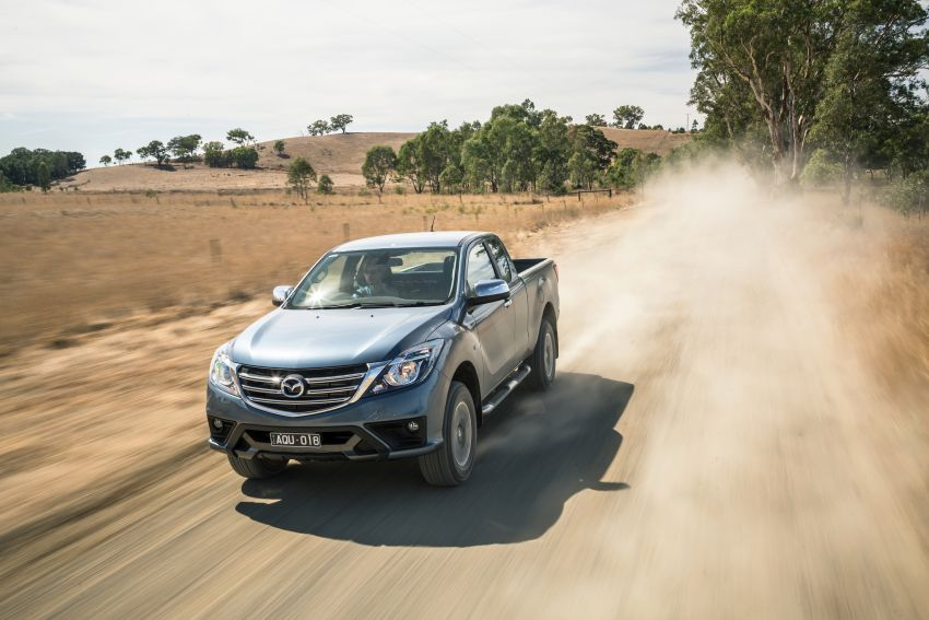 Mazda BT-50 gets second facelift in Australia – Apple CarPlay and Android Auto as standard, from RM86k Image #814876
