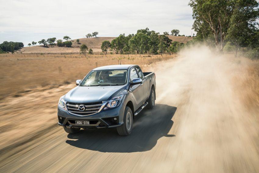 Mazda BT-50 <em>facelift</em> kali kedua diperkenalkan di Australia – rupa lebih segar, pelbagai ciri baharu Image #815294