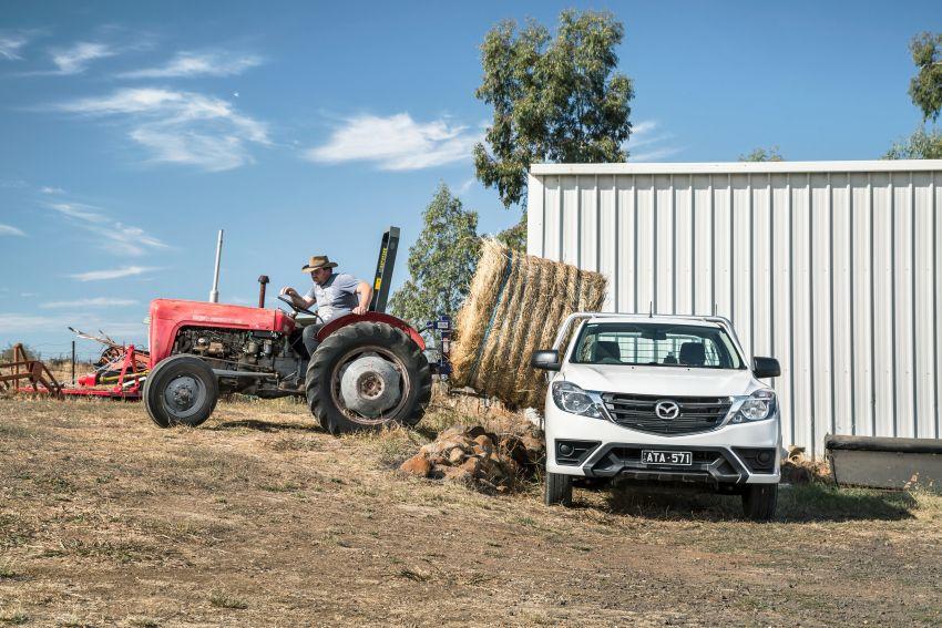 Mazda BT-50 <em>facelift</em> kali kedua diperkenalkan di Australia – rupa lebih segar, pelbagai ciri baharu Image #815291