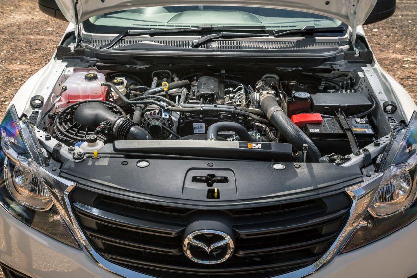 Mazda BT-50 <em>facelift</em> kali kedua diperkenalkan di Australia – rupa lebih segar, pelbagai ciri baharu Image #815288