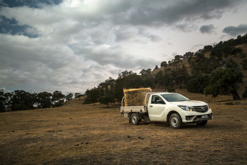 Mazda BT-50 gets second facelift in Australia – Apple CarPlay and Android Auto as standard, from RM86k Image #814891