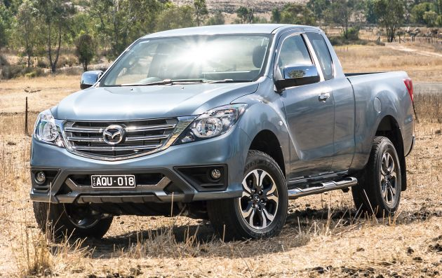 d9ef91c286b81c mazda bt-50 gets second facelift in australia – apple carplay and