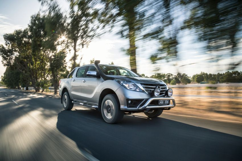 Mazda BT-50 gets second facelift in Australia – Apple CarPlay and Android Auto as standard, from RM86k Image #814893