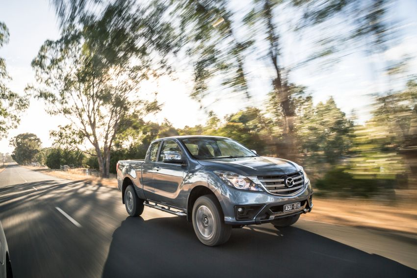 Mazda BT-50 gets second facelift in Australia – Apple CarPlay and Android Auto as standard, from RM86k Image #814895
