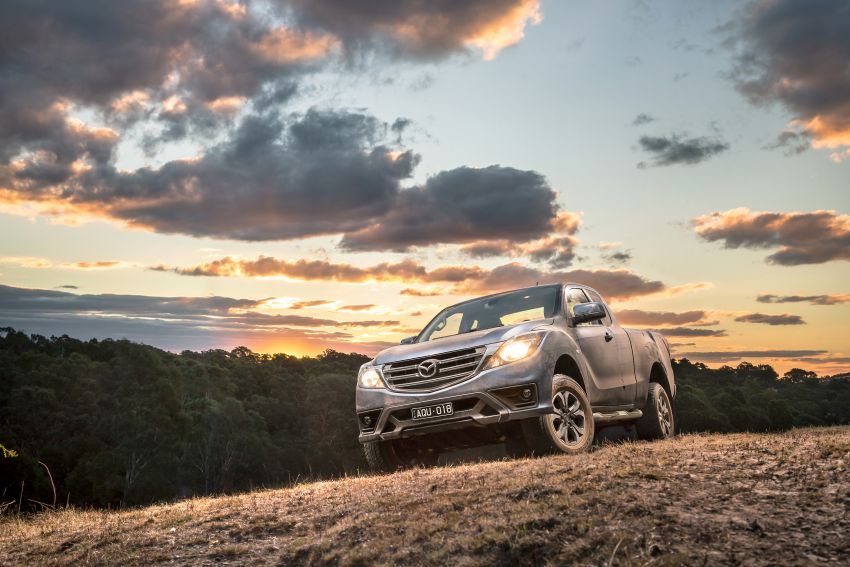 Mazda BT-50 gets second facelift in Australia – Apple CarPlay and Android Auto as standard, from RM86k Image #814897