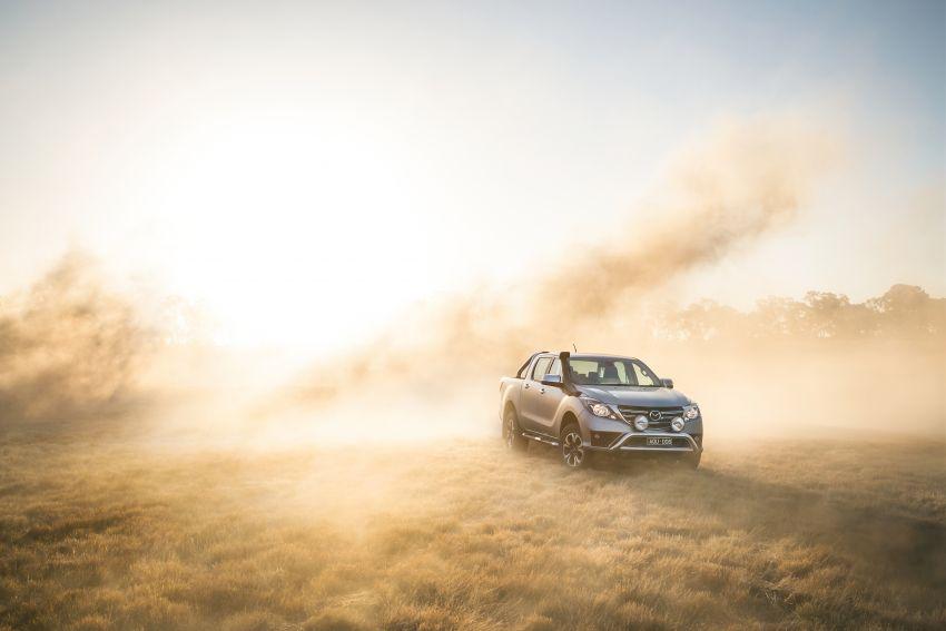 Mazda BT-50 <em>facelift</em> kali kedua diperkenalkan di Australia – rupa lebih segar, pelbagai ciri baharu Image #815304