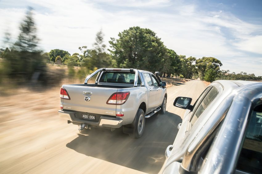 Mazda BT-50 gets second facelift in Australia – Apple CarPlay and Android Auto as standard, from RM86k Image #814867