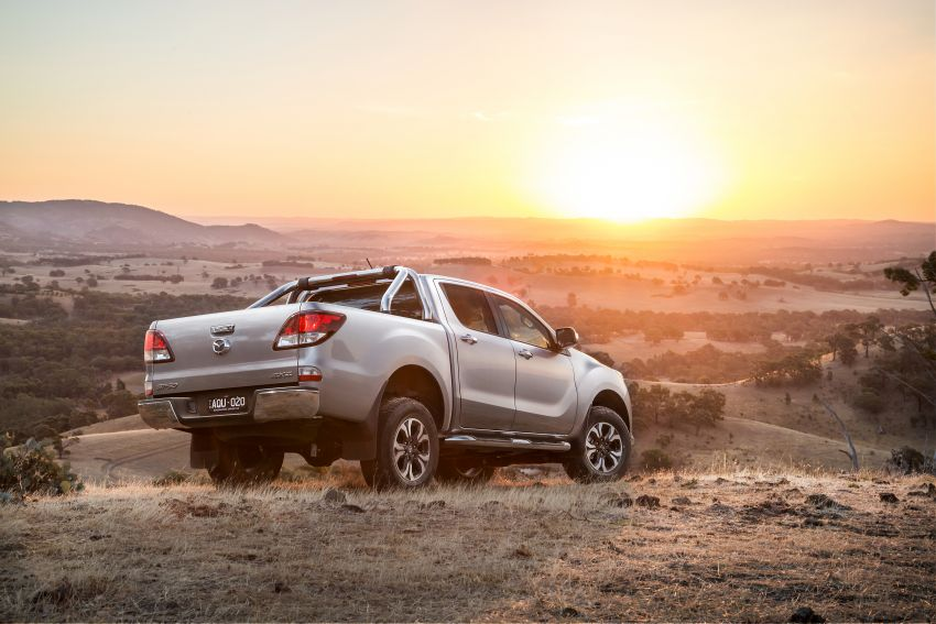 Mazda BT-50 gets second facelift in Australia – Apple CarPlay and Android Auto as standard, from RM86k Image #814868