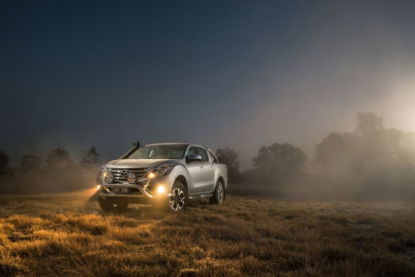 Mazda BT-50 gets second facelift in Australia – Apple CarPlay and Android Auto as standard, from RM86k Image #814869