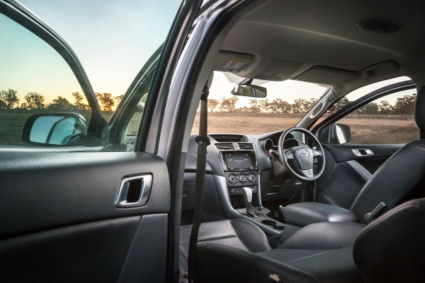 Mazda BT-50 gets second facelift in Australia – Apple CarPlay and Android Auto as standard, from RM86k Image #814870