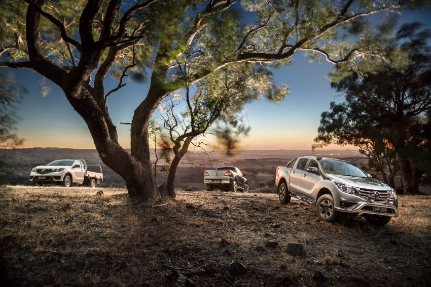 Mazda BT-50 gets second facelift in Australia – Apple CarPlay and Android Auto as standard, from RM86k Image #814871