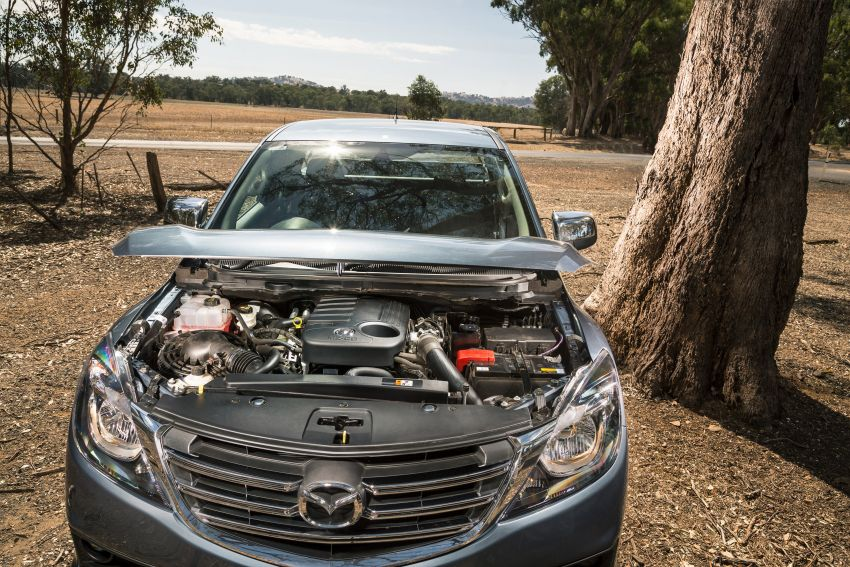 Mazda BT-50 gets second facelift in Australia – Apple CarPlay and Android Auto as standard, from RM86k Image #814872